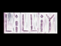 Wandbild Lilly