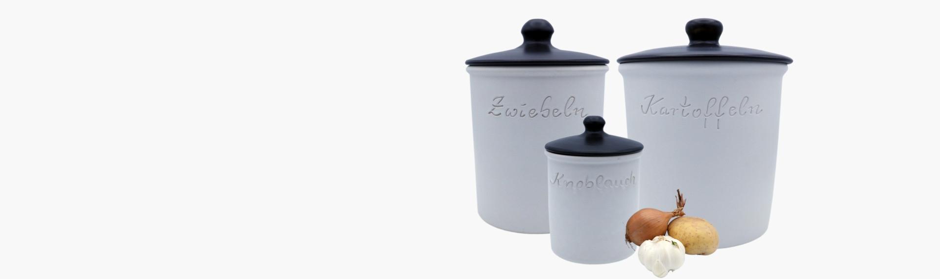 Vorratsdosen aus Keramik